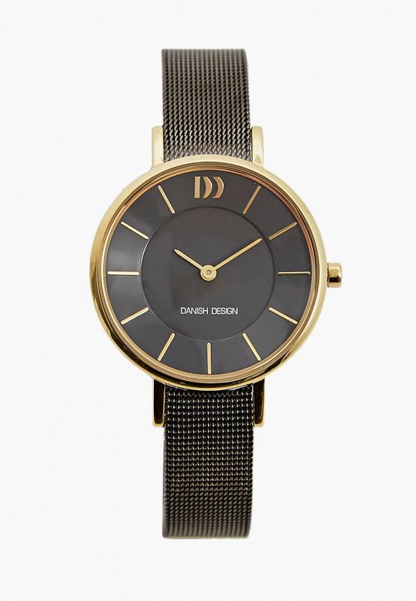 женские часы danish design, серые