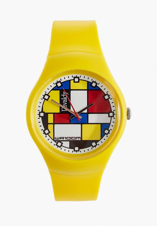 женские часы rivaldy, желтые