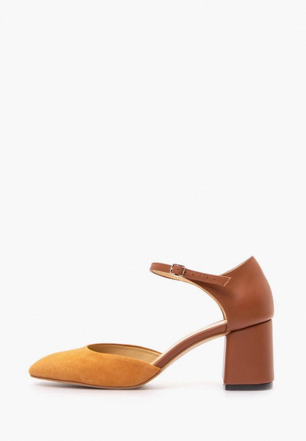 женские туфли lookie, коричневые