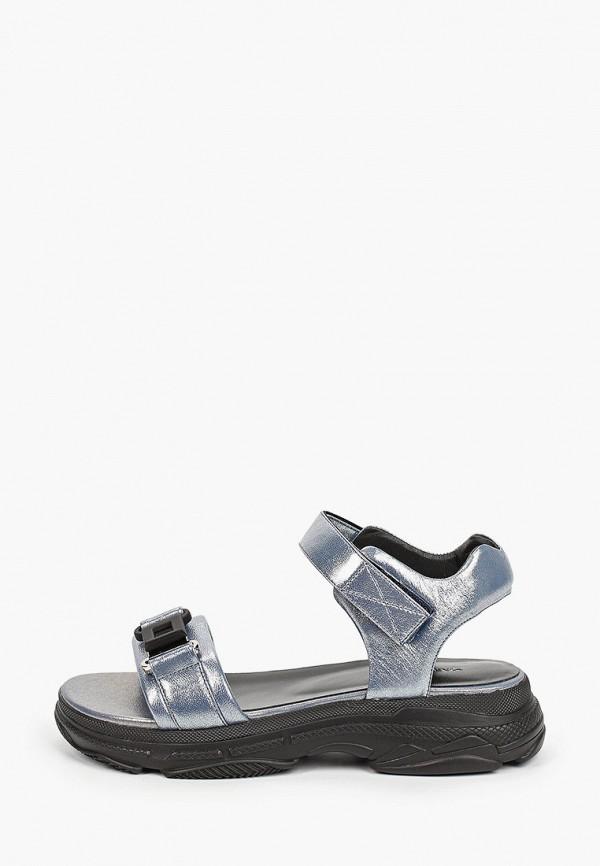 женские сандалии mascotte, синие