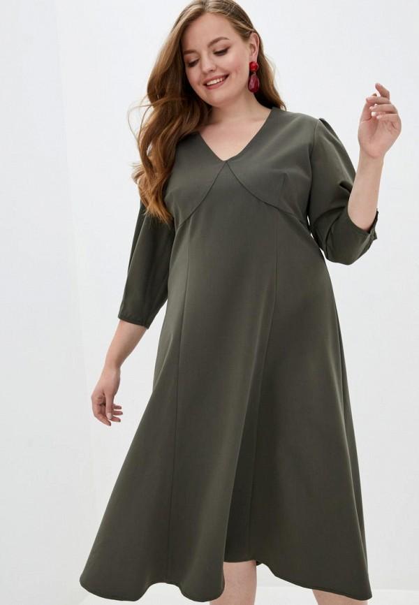 женское повседневные платье jhiva, хаки