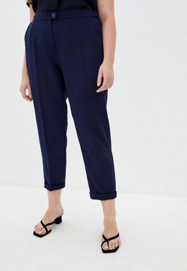 женские классические брюки jhiva, синие