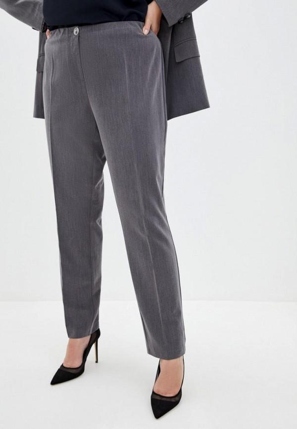 женские классические брюки jhiva, серые