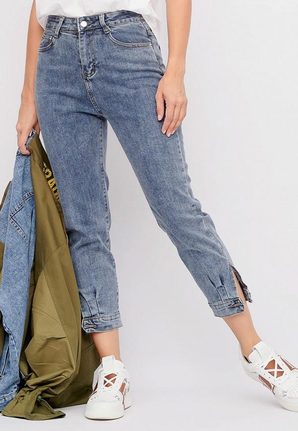 женские джинсы-мом bellart, синие