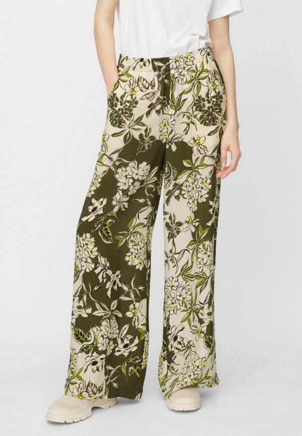 женские повседневные брюки marc o'polo, зеленые