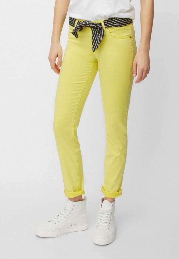 женские повседневные брюки marc o'polo, желтые