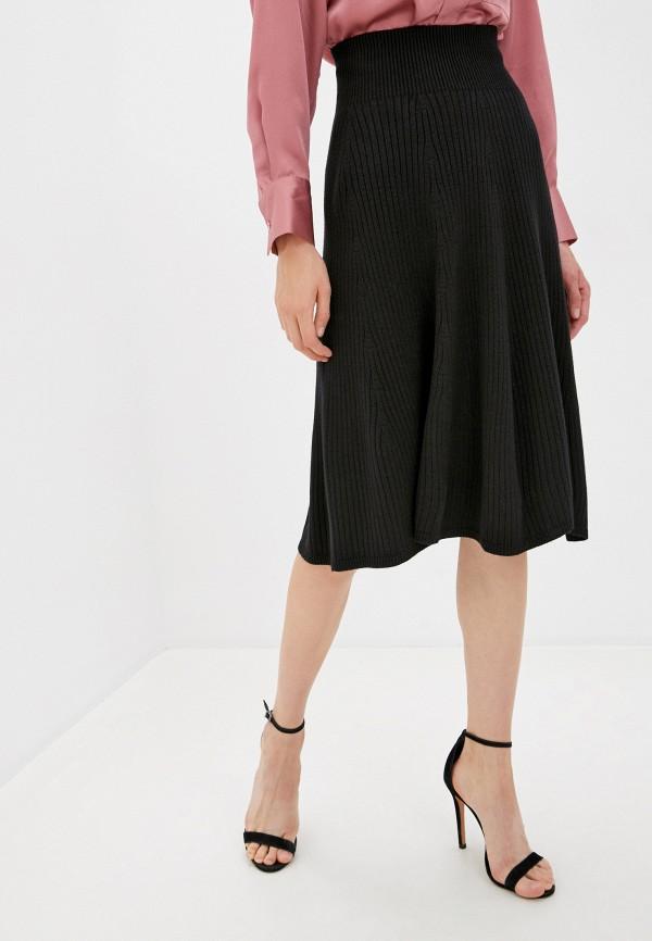 женская прямые юбка marytes, черная