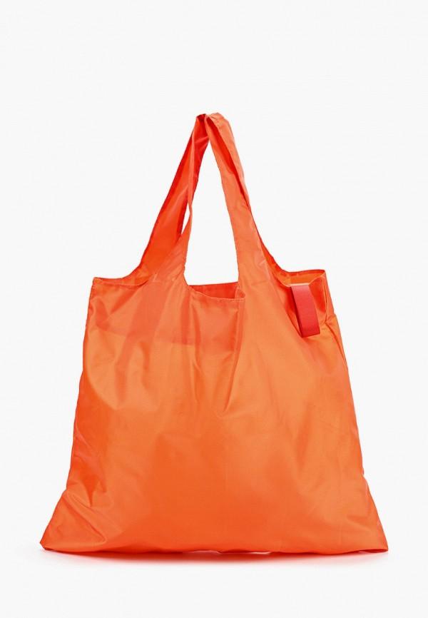 женская сумка-шоперы routemark, оранжевая