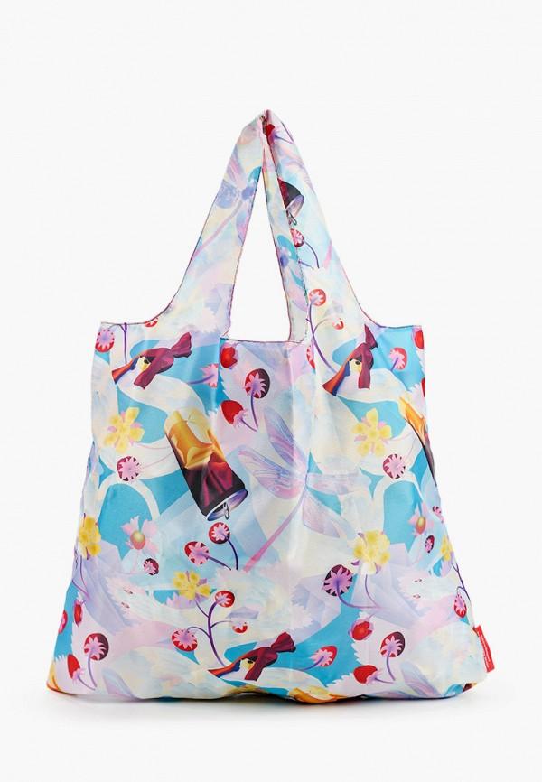 женская сумка-шоперы routemark, разноцветная
