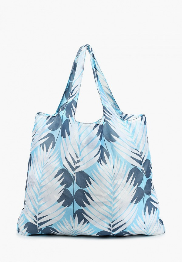 женская сумка-шоперы routemark, голубая