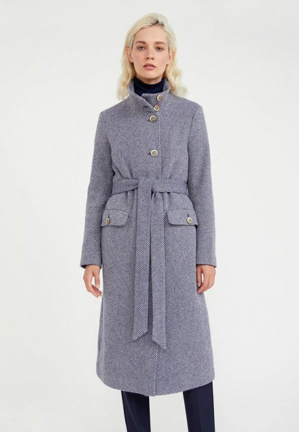 Пальто Finn Flare синего цвета