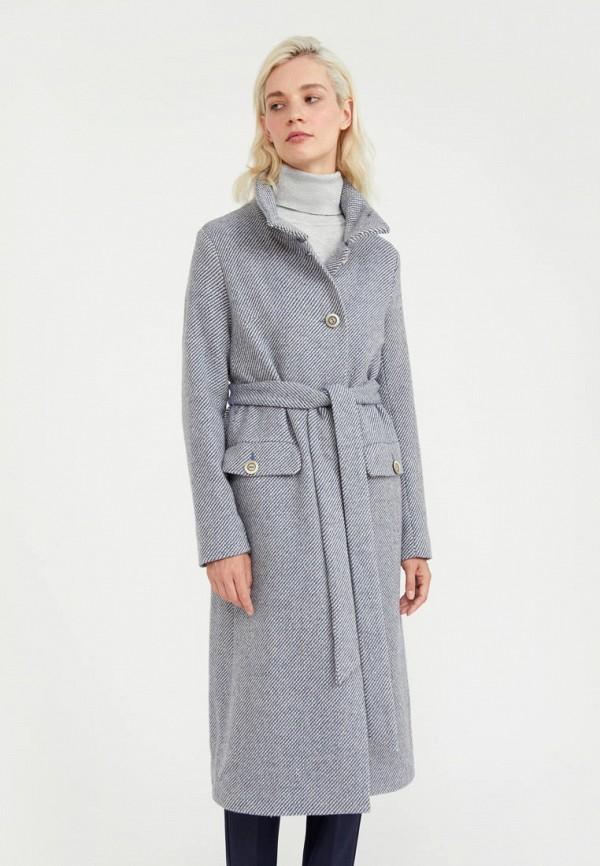 Пальто Finn Flare голубого цвета