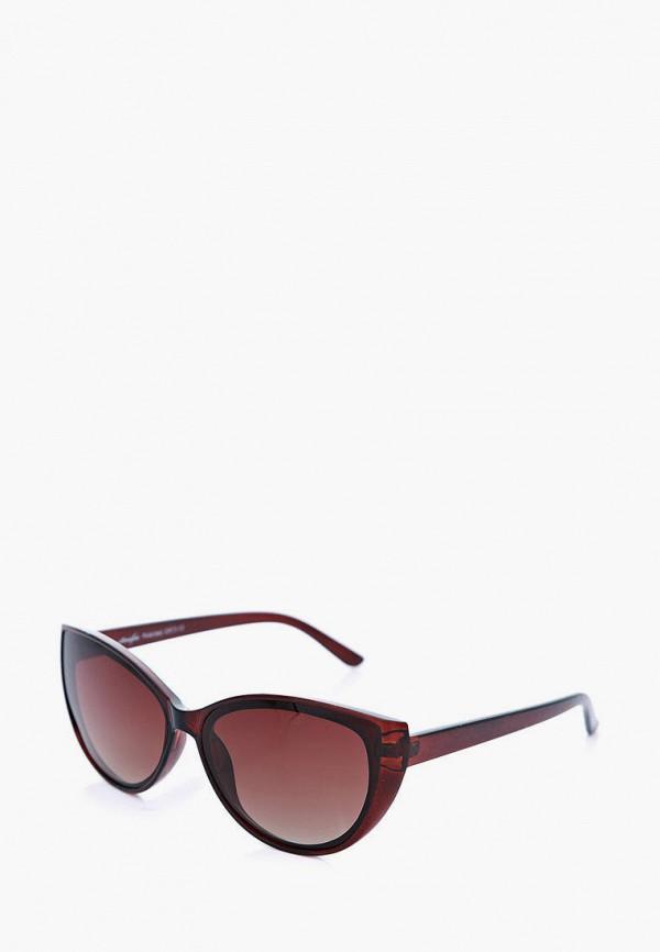 женские солнцезащитные очки luckylook, бордовые