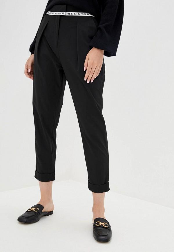 женские повседневные брюки frankie morello, черные