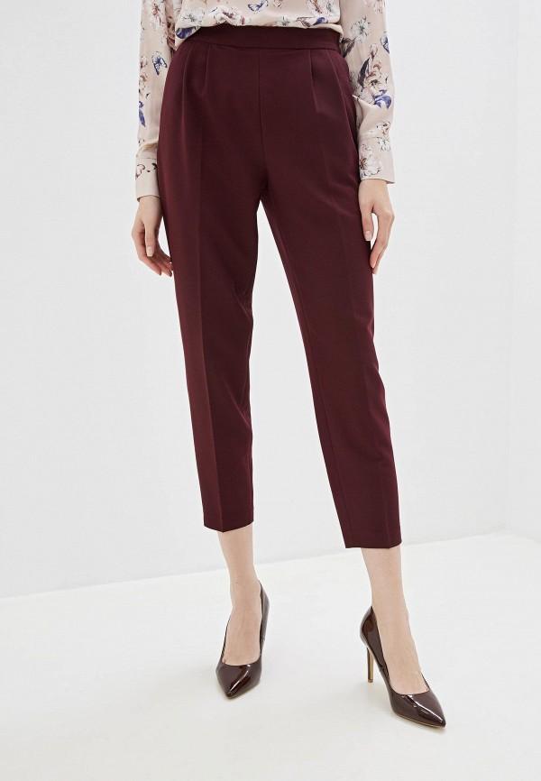 женские брюки vilatte, бордовые