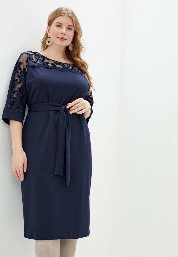 женское платье mankato, синее