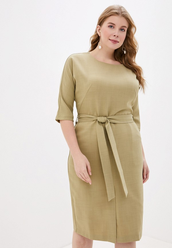 женское платье mankato, зеленое