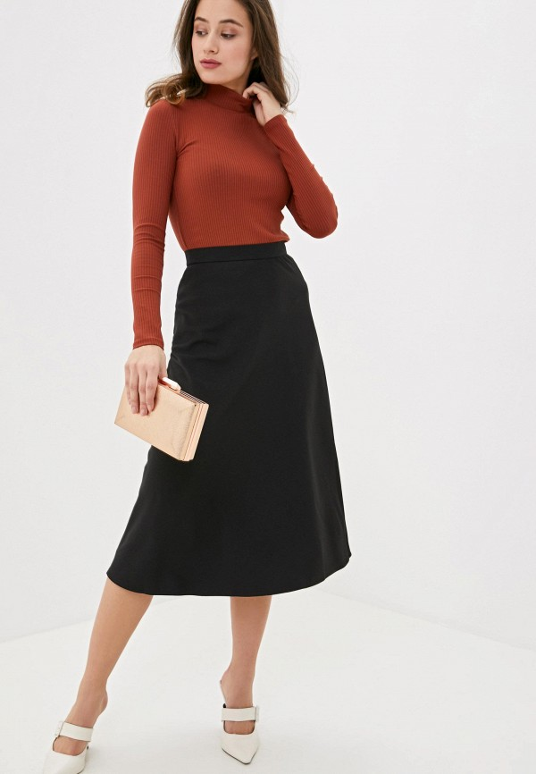 Фото 2 - Женскую юбку Ummami черного цвета