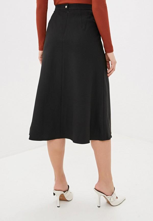 Фото 3 - Женскую юбку Ummami черного цвета