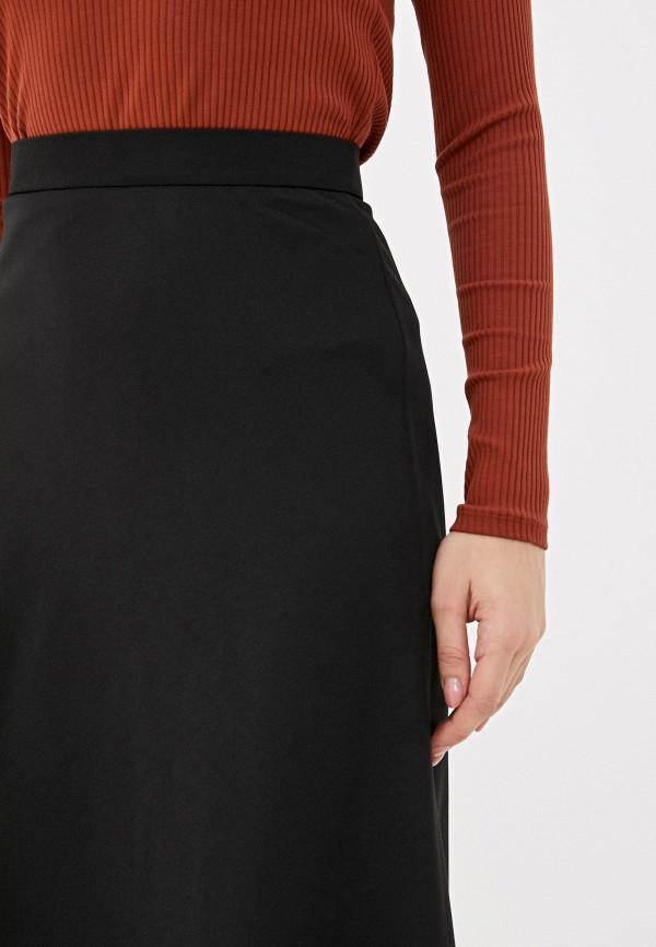 Фото 4 - Женскую юбку Ummami черного цвета