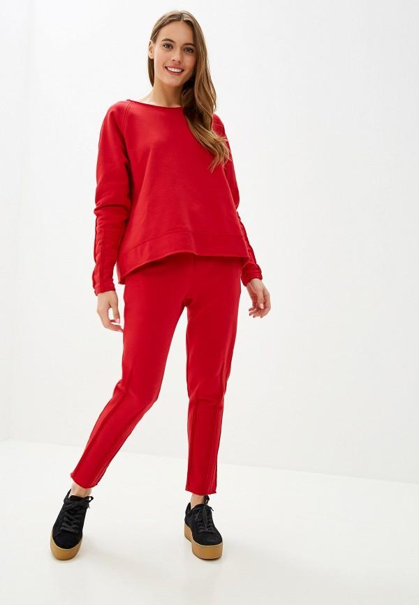 женский спортивный костюм polunina, красный
