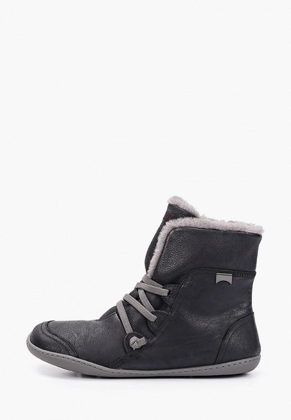 женские ботинки camper, черные