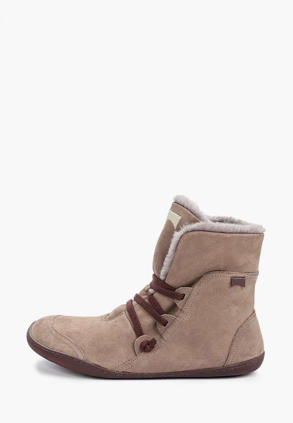 Ботинки Camper коричневого цвета