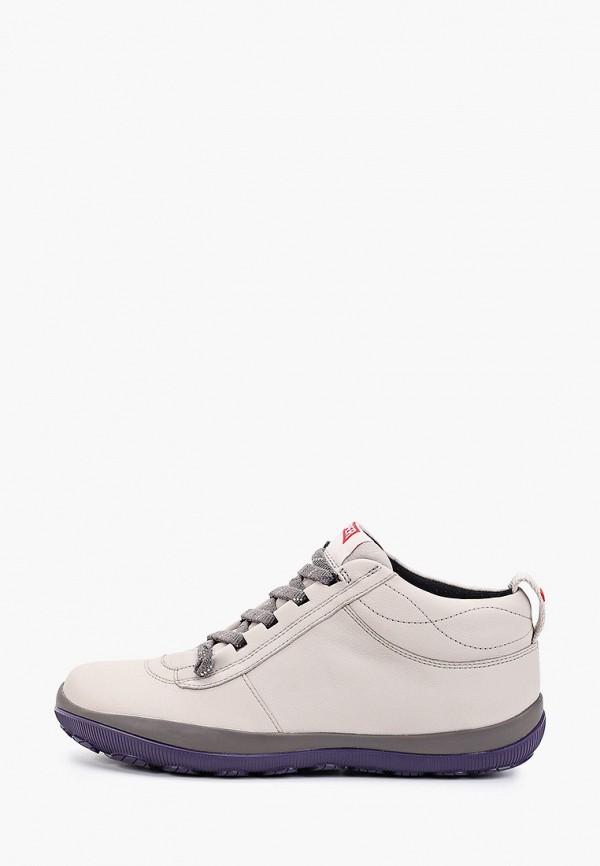 Ботинки Camper бежевого цвета