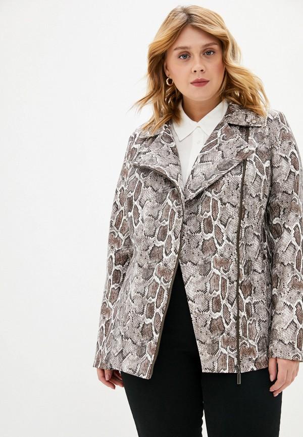 Куртка кожаная Авантюра Plus Size Fashion Авантюра Plus Size Fashion MP002XW11WSR