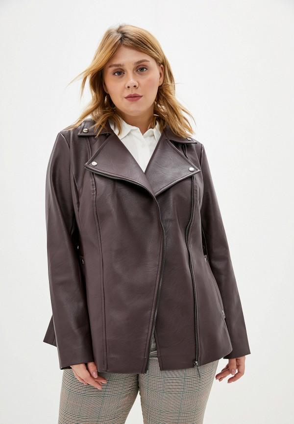 Куртка кожаная Авантюра Plus Size Fashion Авантюра Plus Size Fashion MP002XW11WSS