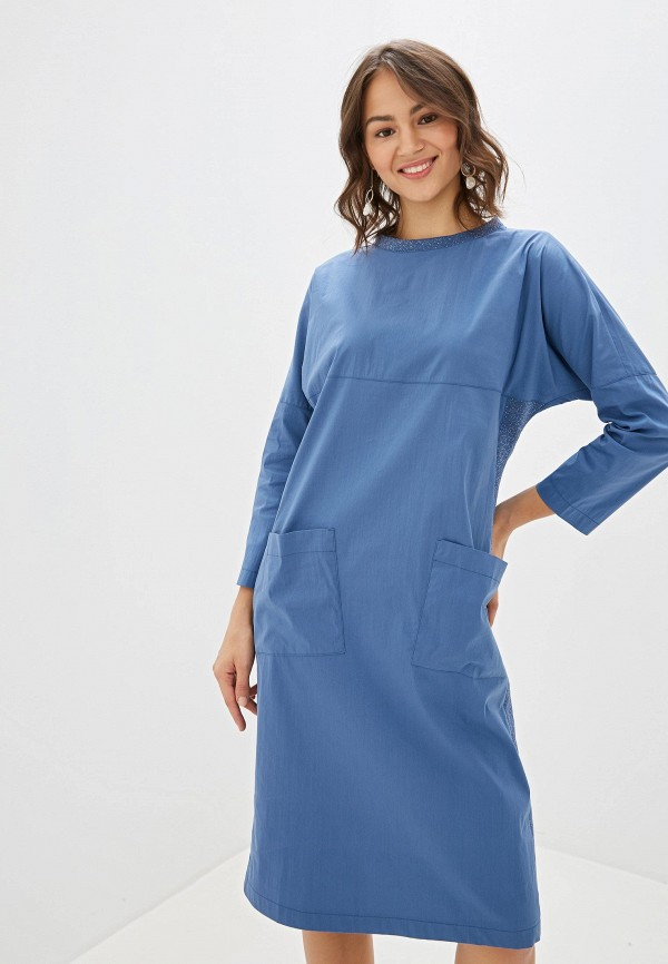 Платье Alpecora Alpecora  синий фото