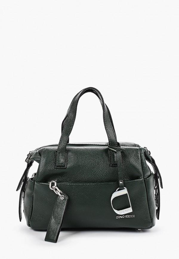 женская сумка dino ricci, зеленая