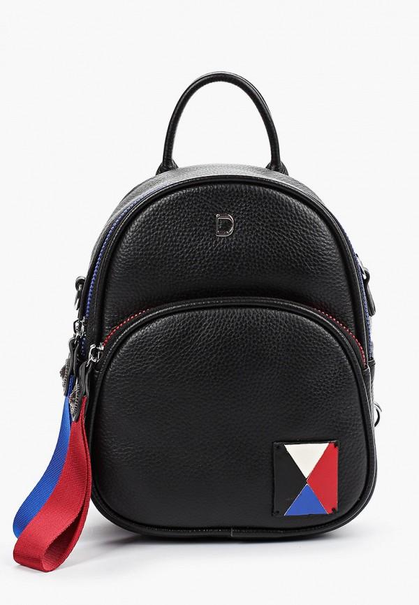 женский рюкзак dino ricci, черный