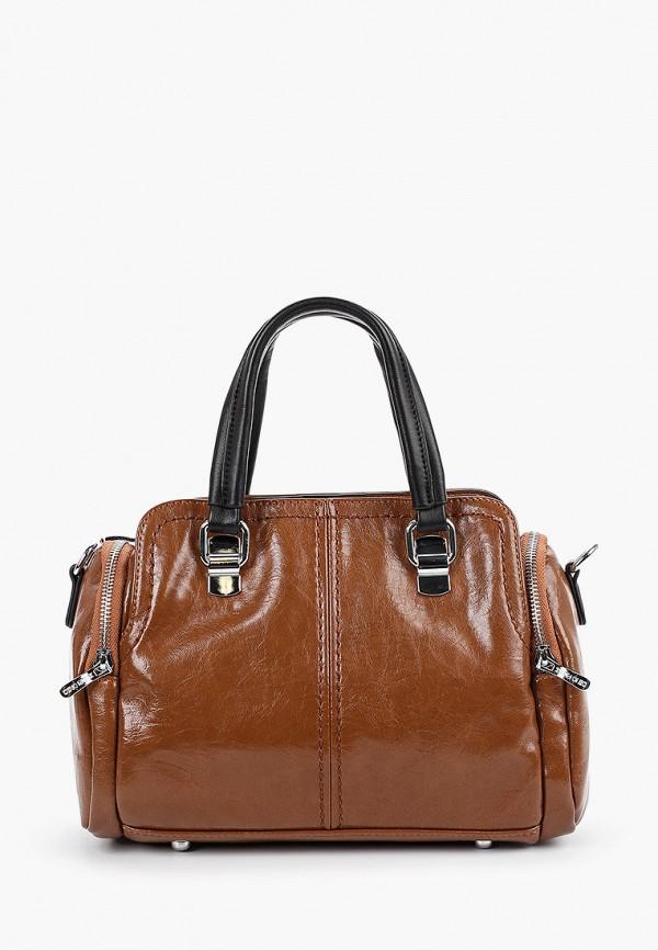 женская сумка dino ricci, коричневая