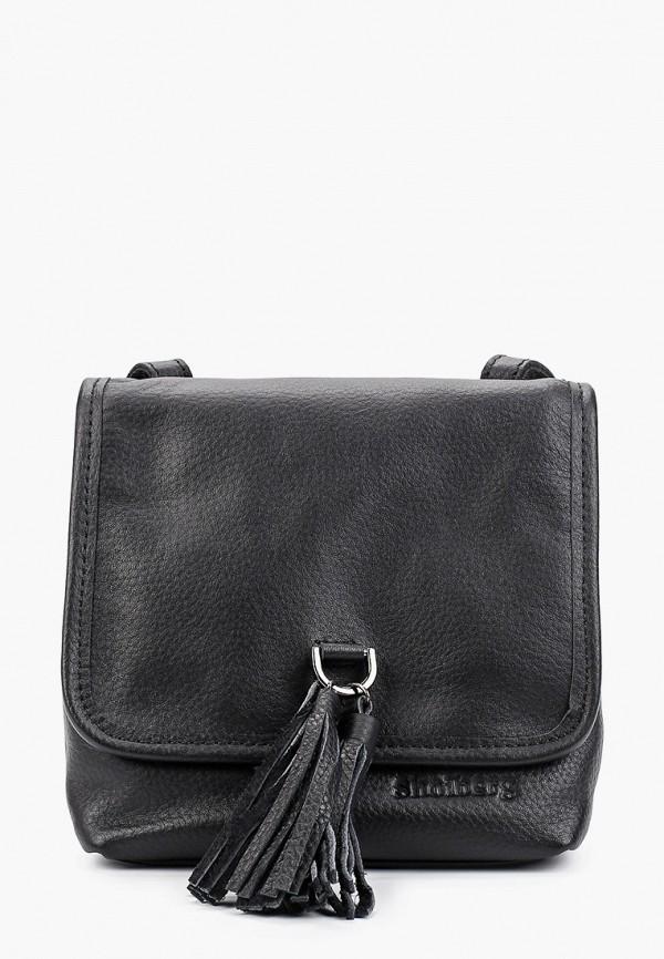 женская сумка shoiberg, черная