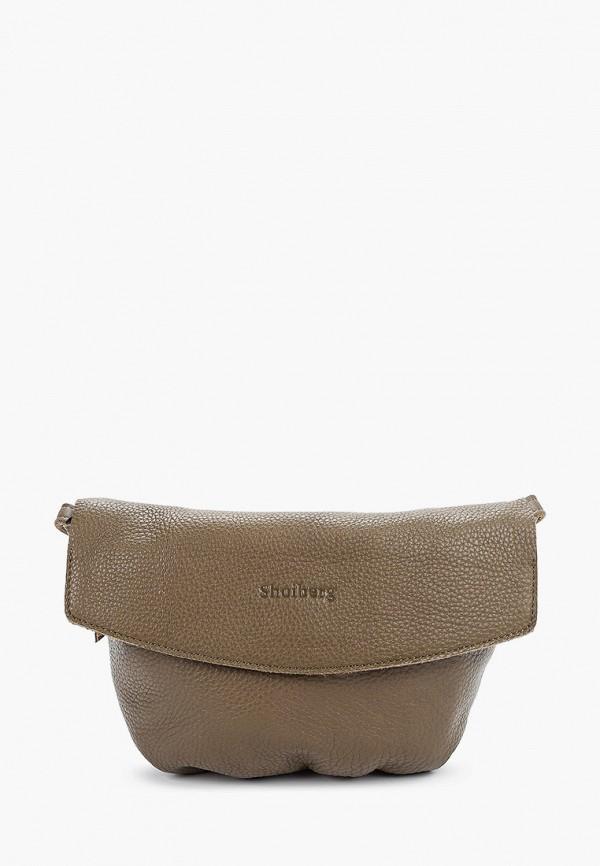 женская сумка shoiberg, хаки