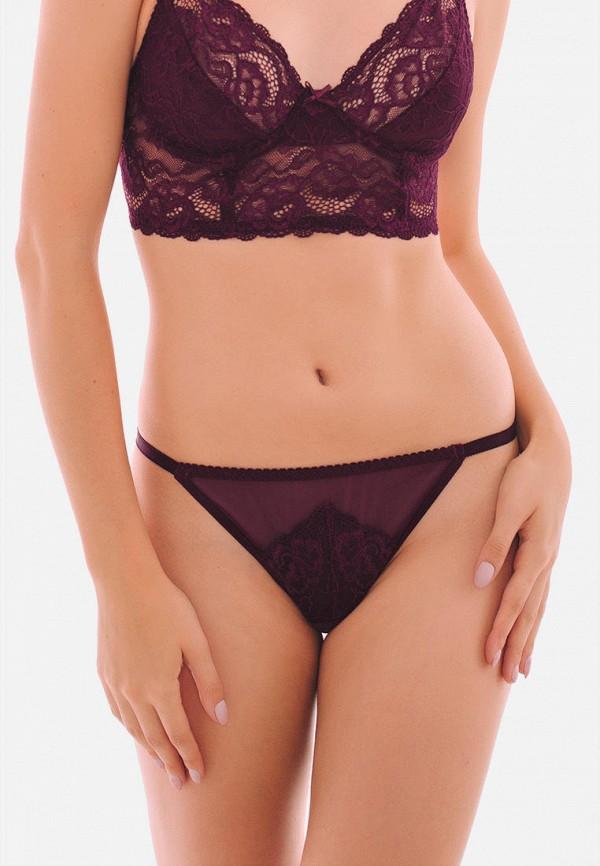 женские трусы-стринги texaleksa, фиолетовые