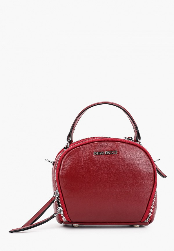 женская сумка dino ricci, бордовая