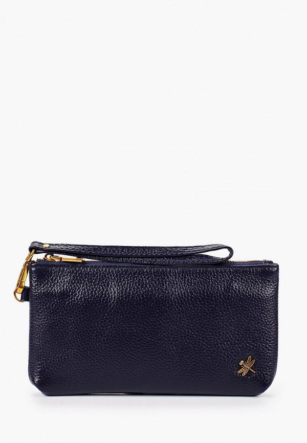 женский кошелёк dino ricci, синий