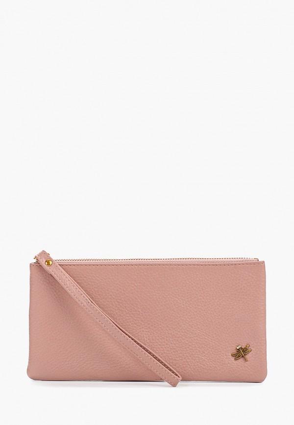 женский кошелёк dino ricci, розовый