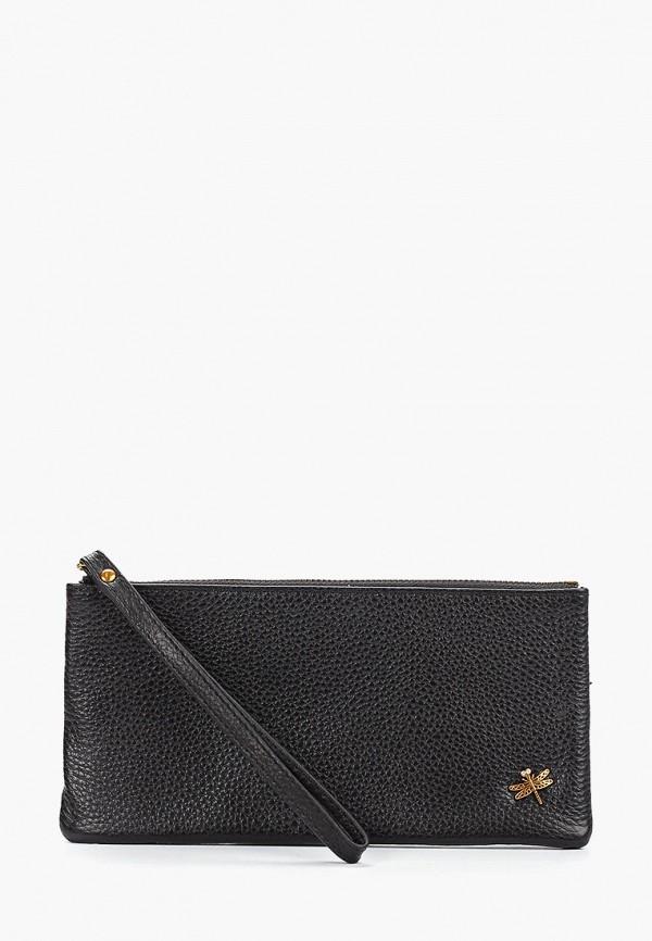 женский кошелёк dino ricci, черный
