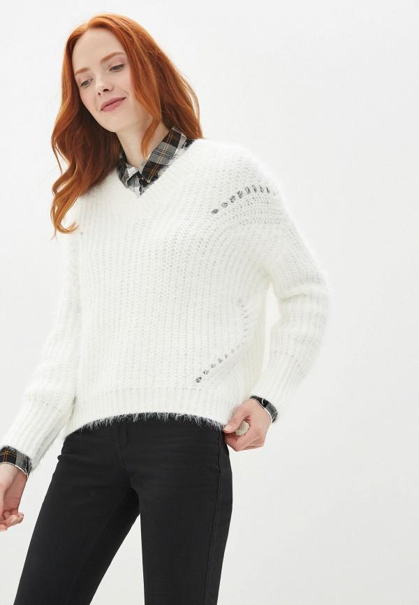 Купить Пуловер Zarina белого цвета