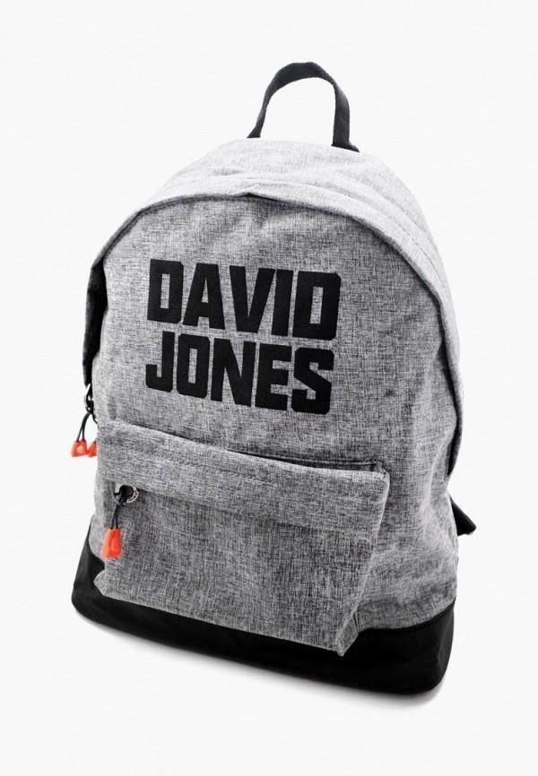 женский рюкзак david jones, серый