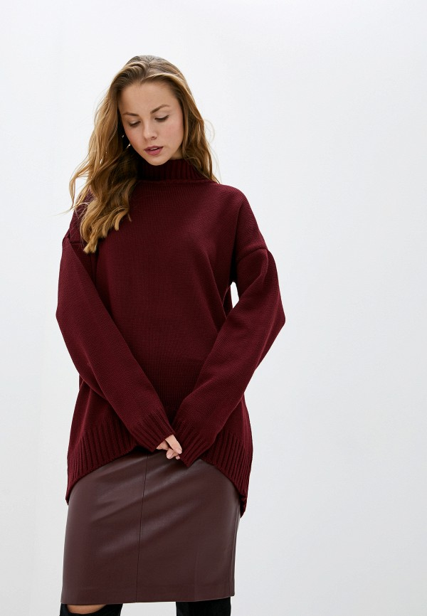 женский свитер myshkyn, бордовый