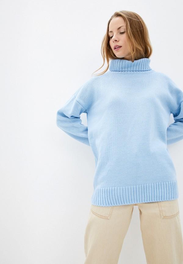 женский свитер myshkyn, голубой