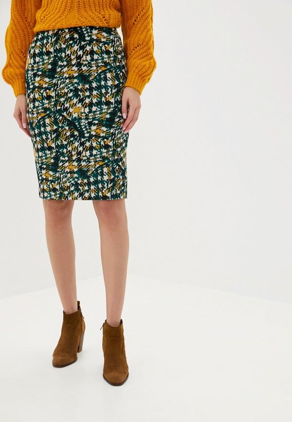 женская юбка ruxara, зеленая