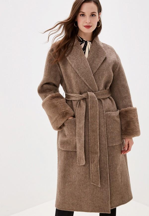 Пальто  - коричневый цвет