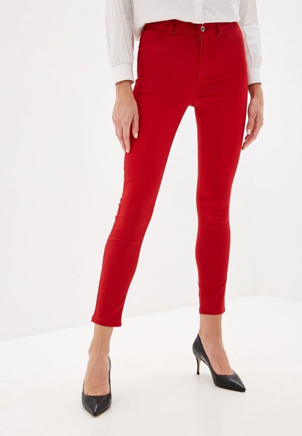 женские брюки calzedonia, красные