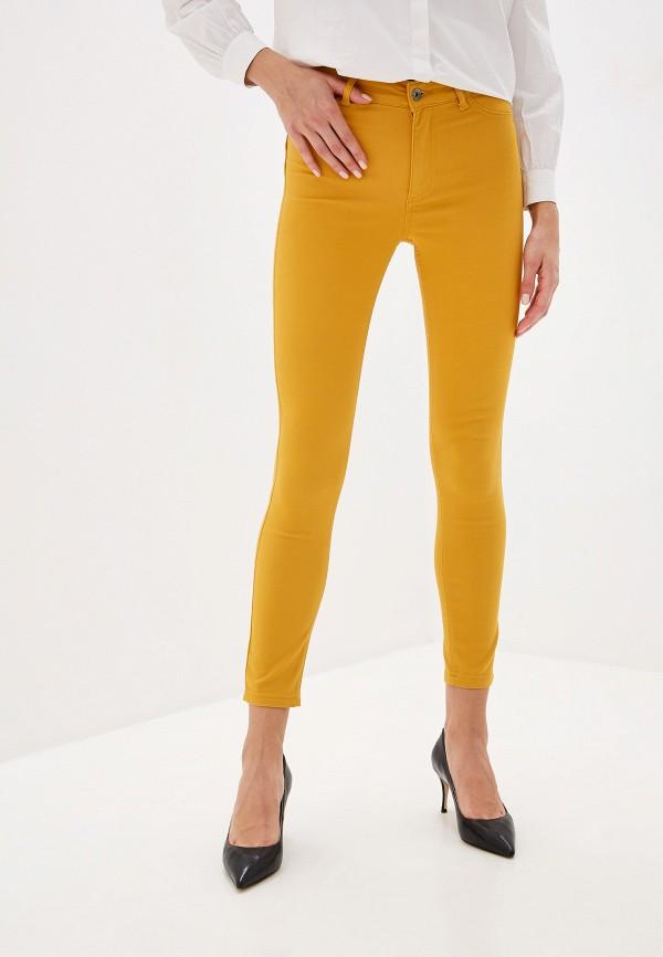женские брюки calzedonia, желтые