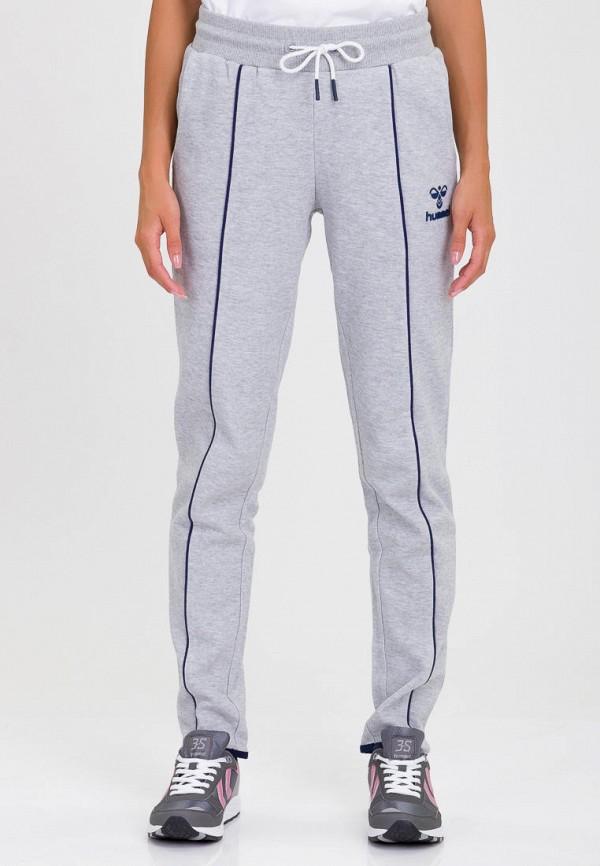 женские спортивные спортивные брюки hummel, серые